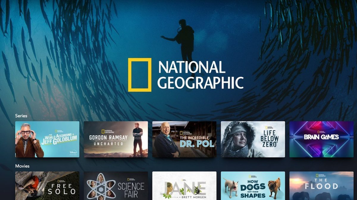 National Geographic Disney+