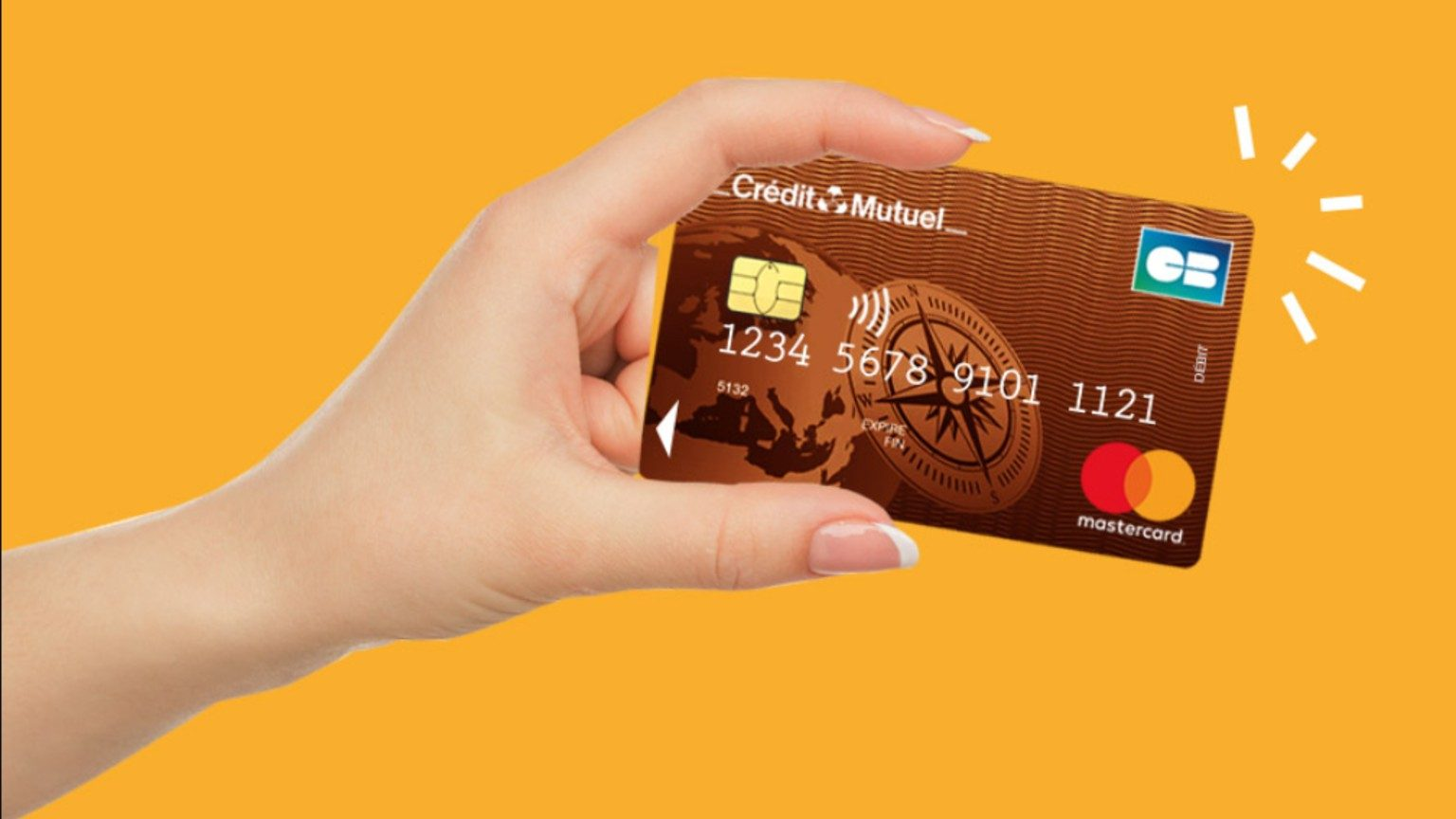 Credit Mutuel Card In Hand