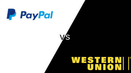 Western Union vs PayPal money transfers