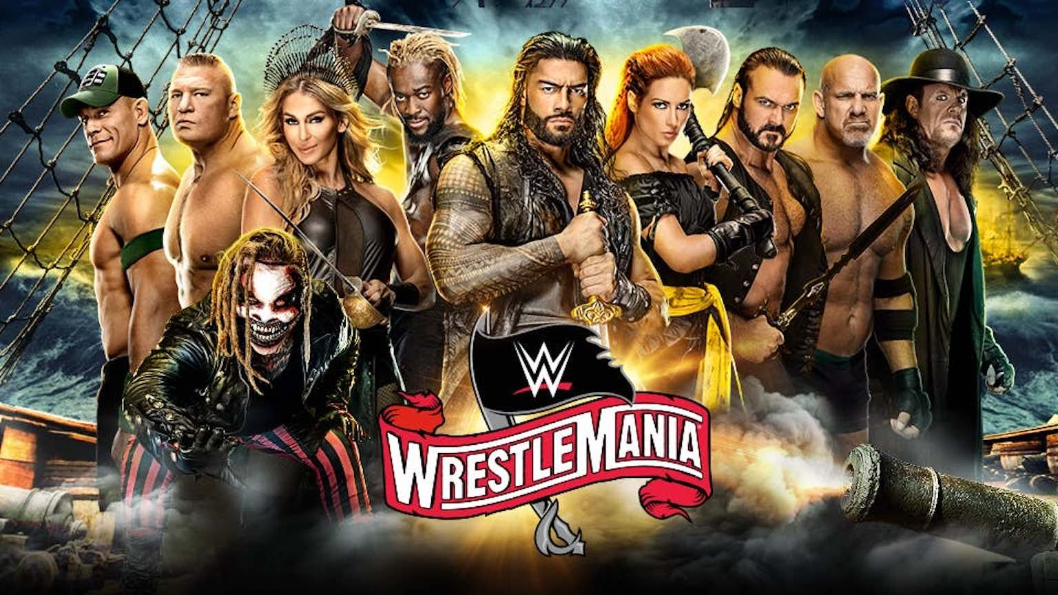 Wrestlemania 36 poster