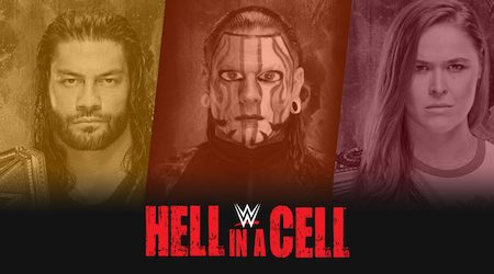 Where to watch WWE Hell in a Cell in New Zealand
