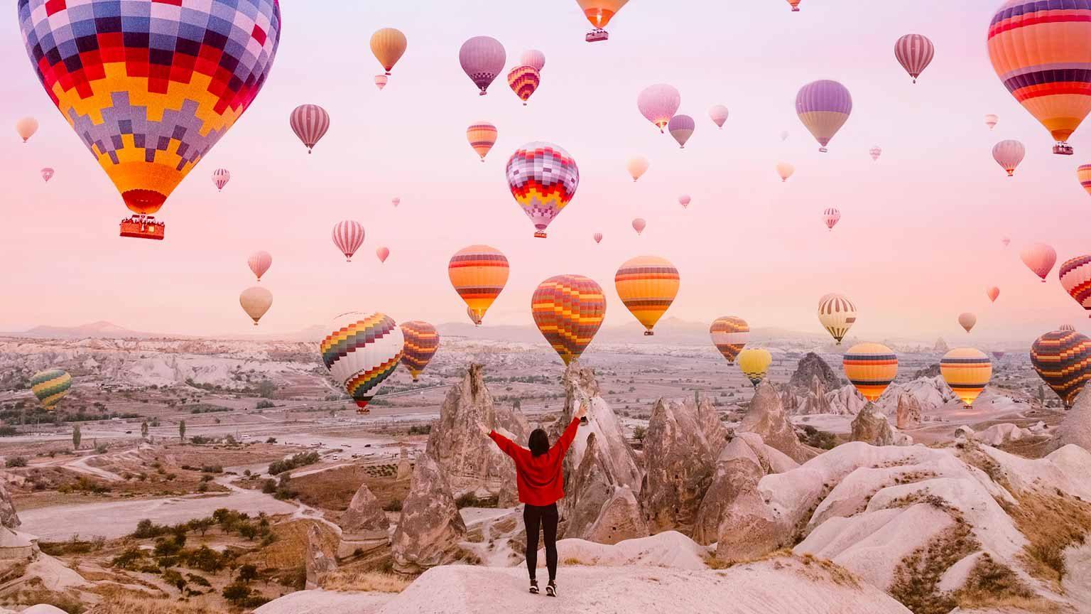 Woman in Cappadocia, Turkey