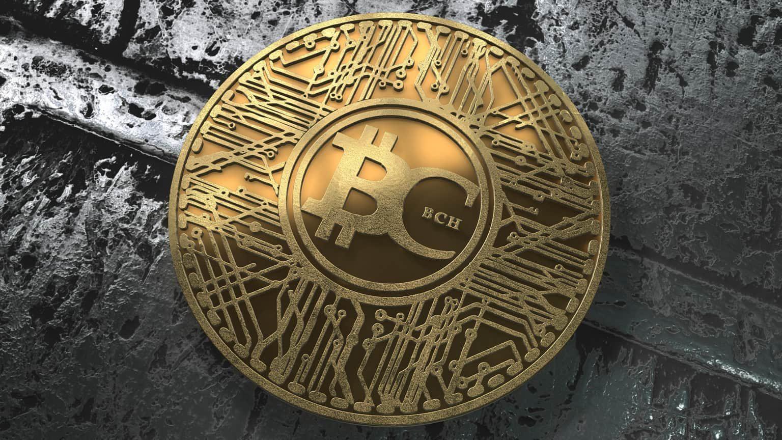Bitcoin Cash physical coin