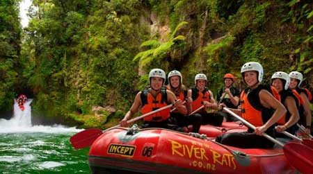 White water rafting in Rotorua and Kaituna in 2021
