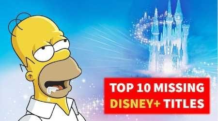 Disney+ New Zealand: Top missing titles