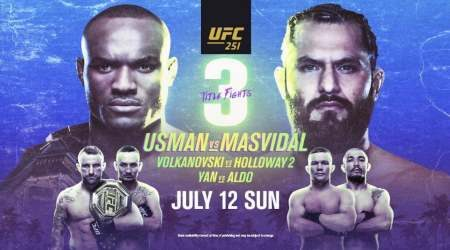 How to watch UFC 251 Usman vs Masvidal live in New Zealand