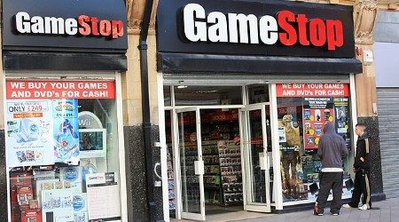 What's happening with GameStop stock, and the dangers of buying in