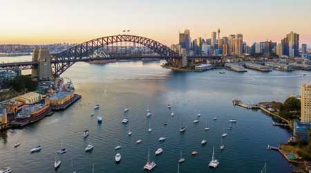Sydney Harbour accommodation with epic views