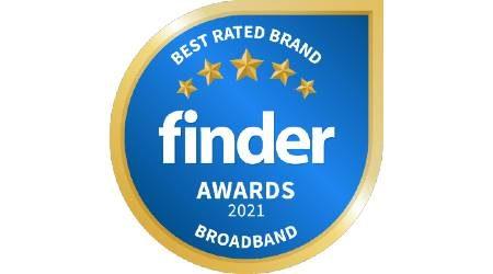 Finder Broadband Awards 2021