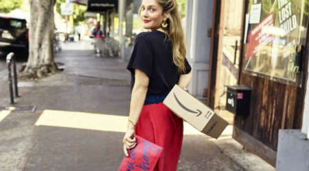 Drew Barrymore partnered with Amazon to launch her lifestyle brand
