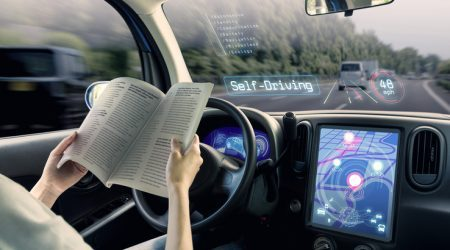 Driverless cars on UK roads within four years vows Chancellor