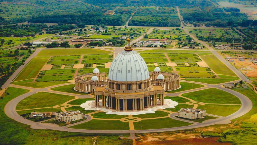 Basilica of Our Lady of Peace in Ivory Coast