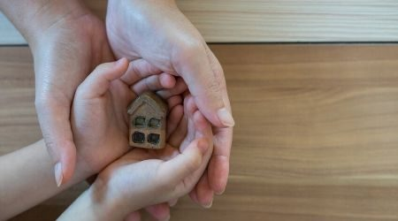Giving property to children