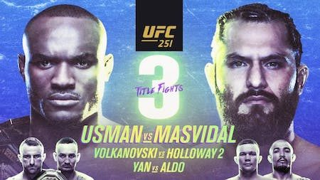 How to watch UFC 251 Usman vs Masvidal live in the UK
