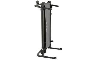 A third view of the Opti Non-Motorised Folding Treadmill