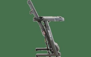 A third view of the JKFitness Aerowork 890 Treadmill Desk (Black)