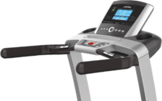 A third view of the Life Fitness T3 Treadmill with Go Console
