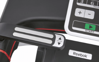 A fourth view of the Reebok Jet 100 Treadmill