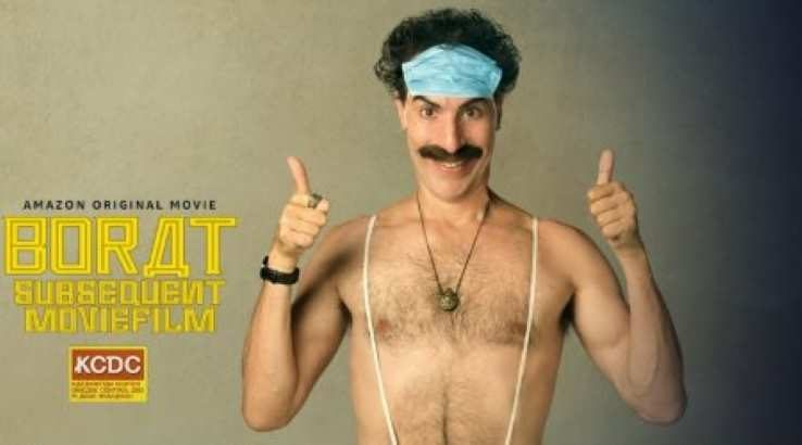 Borat Subsequent Moviefilm: Where to watch Borat 2 online for free