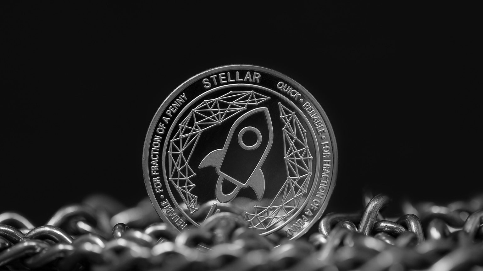 Stellar cryptocurrency physical coin