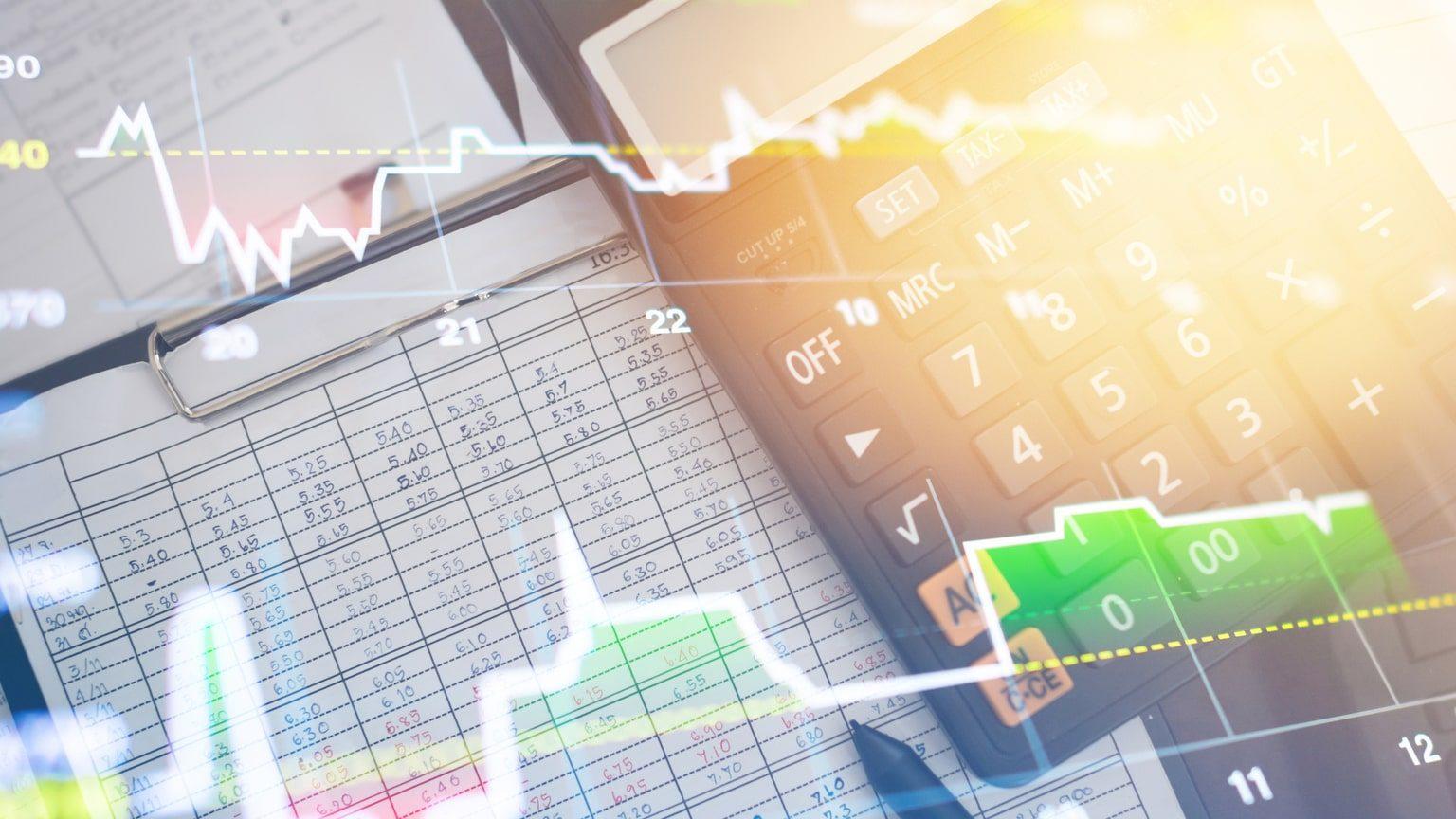 Abstract Graphs Calculator Finance
