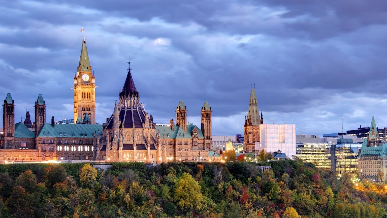 Photo of Ottawa city skyline