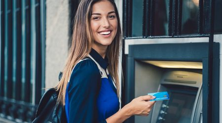 Compare bank accounts with free ATM access