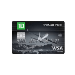 TD Bank First Class Travel Visa Card Review May 2020 ...