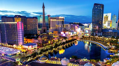 Cheap flights to Las Vegas for 2020