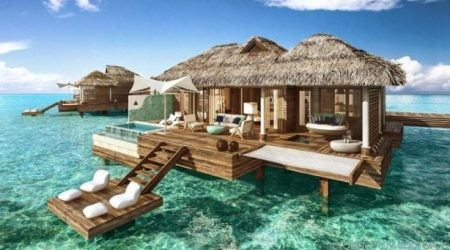 Best overwater bungalows in the Caribbean