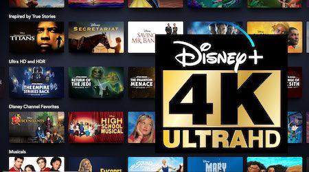 Full list of Disney+ movies in 4K UHD
