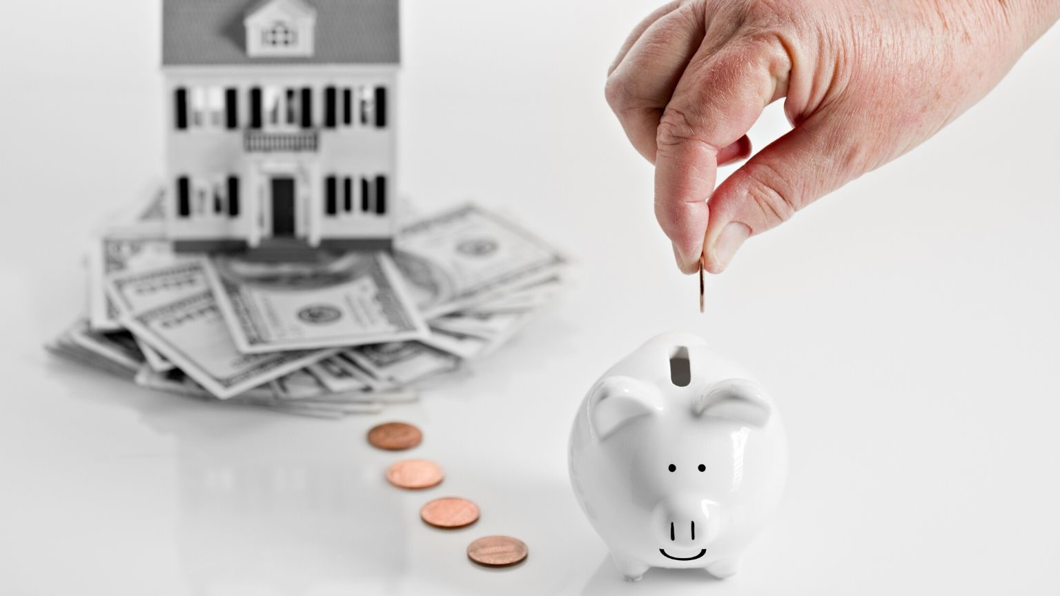 Taking equity from home by using a reverse mortgage.