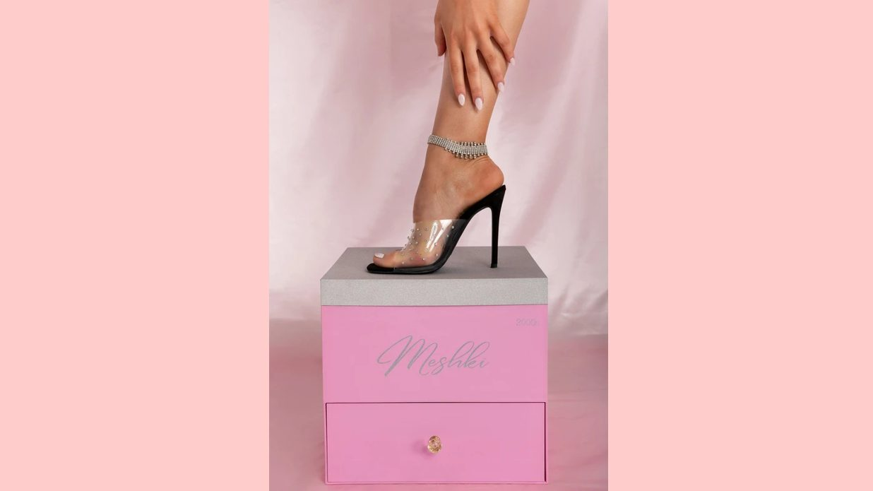 Meshki Shoe On Branded Box Edited