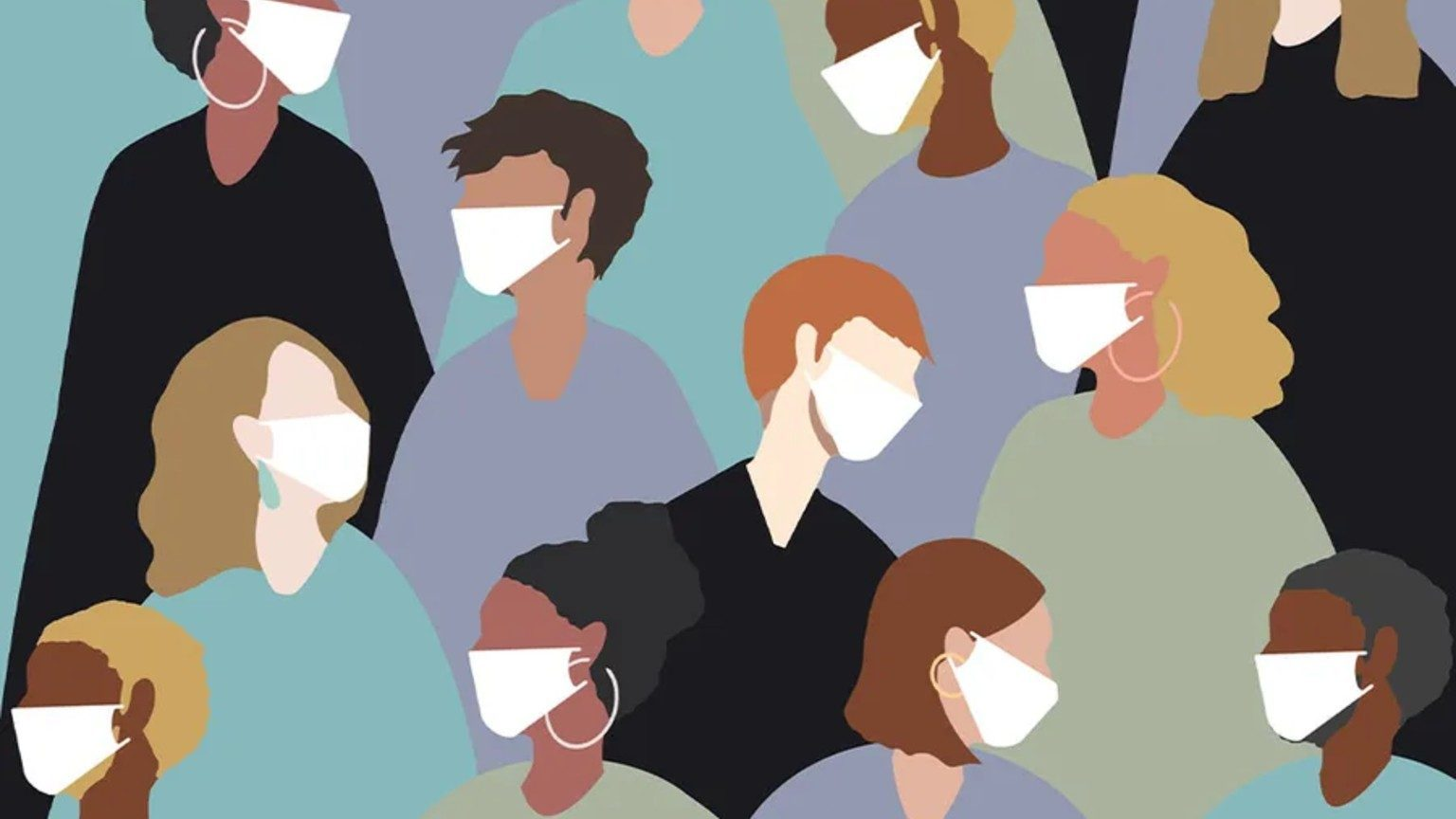 Graphic: People wearing masks to guard against coronavirus, disease