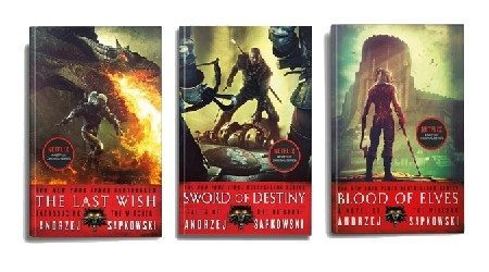 Where to buy The Witcher books online in Canada