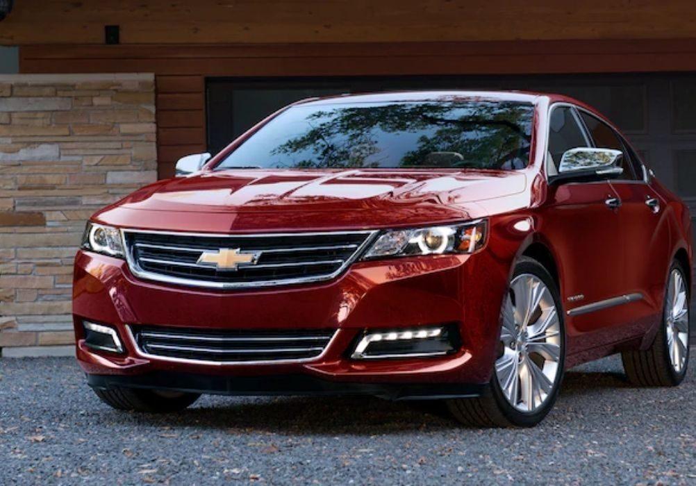 Red Chevrolet Impala