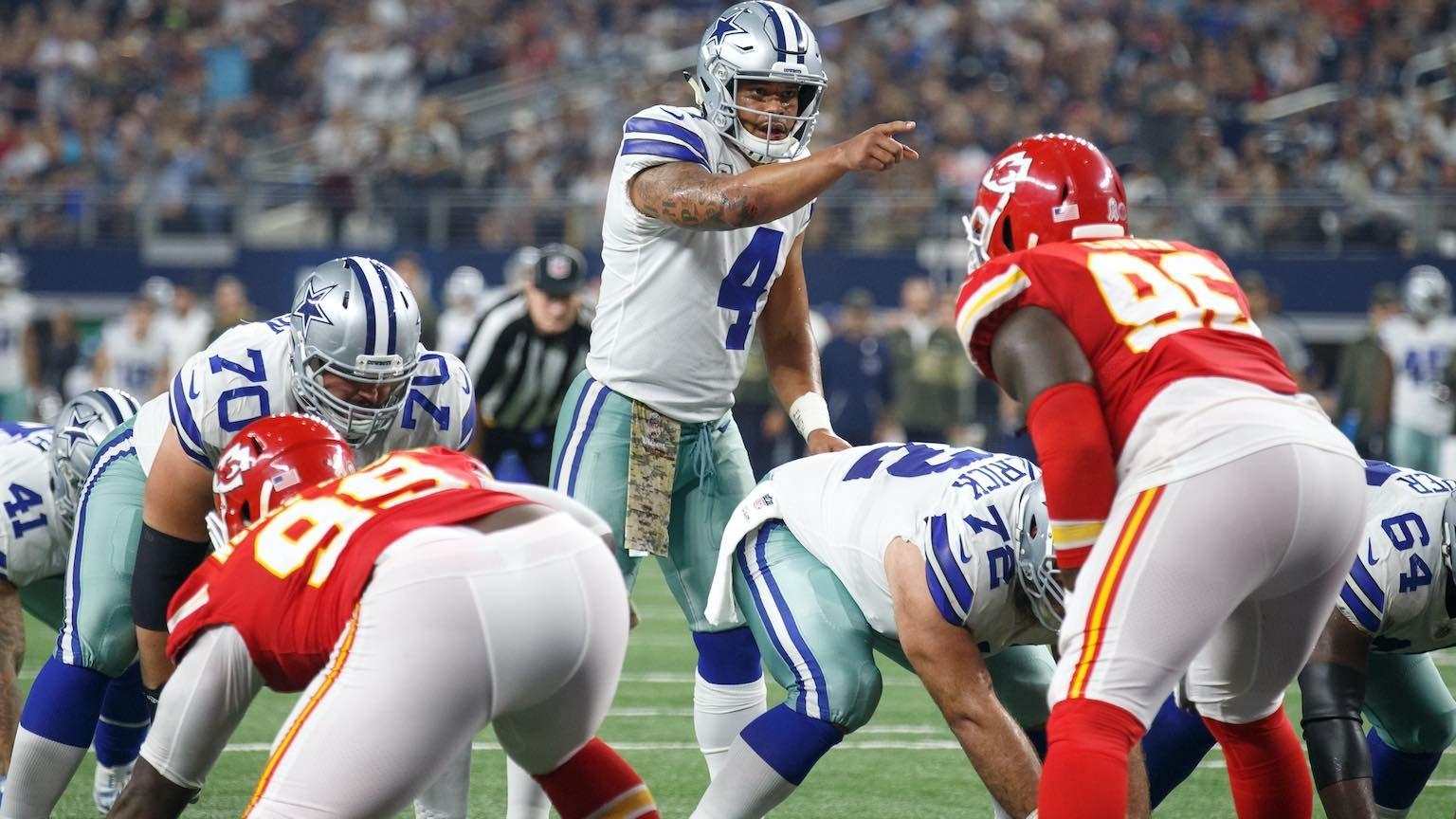 Dallas Cowboys vs Kansas City Chiefs