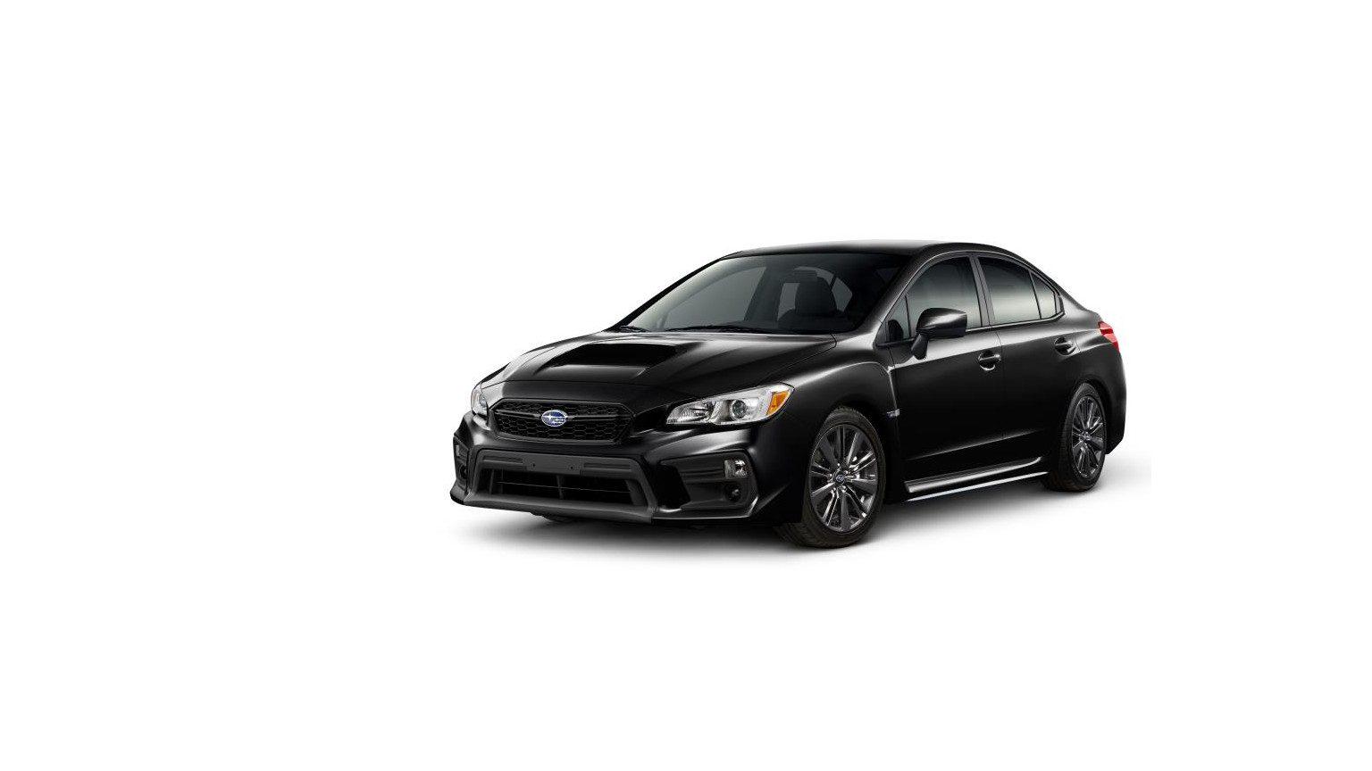 Black 2020 Subaru WRX