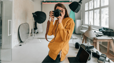 Setting up a photography business