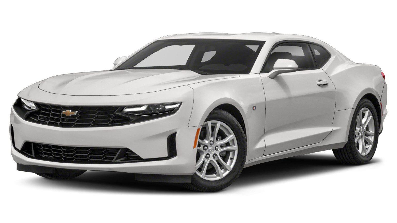 2020 white Chevy Camaro