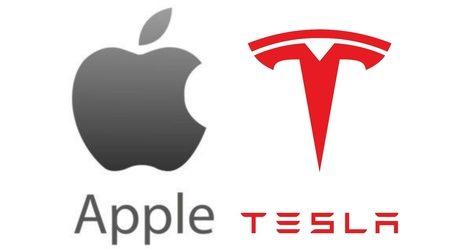 Apple vs Tesla stocks