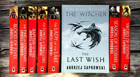 Where to buy The Witcher books online in Hong Kong