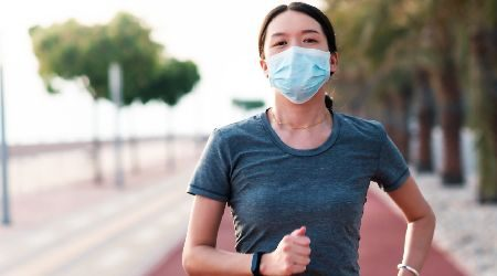 Where to buy an exercise-friendly face mask online in Hong Kong