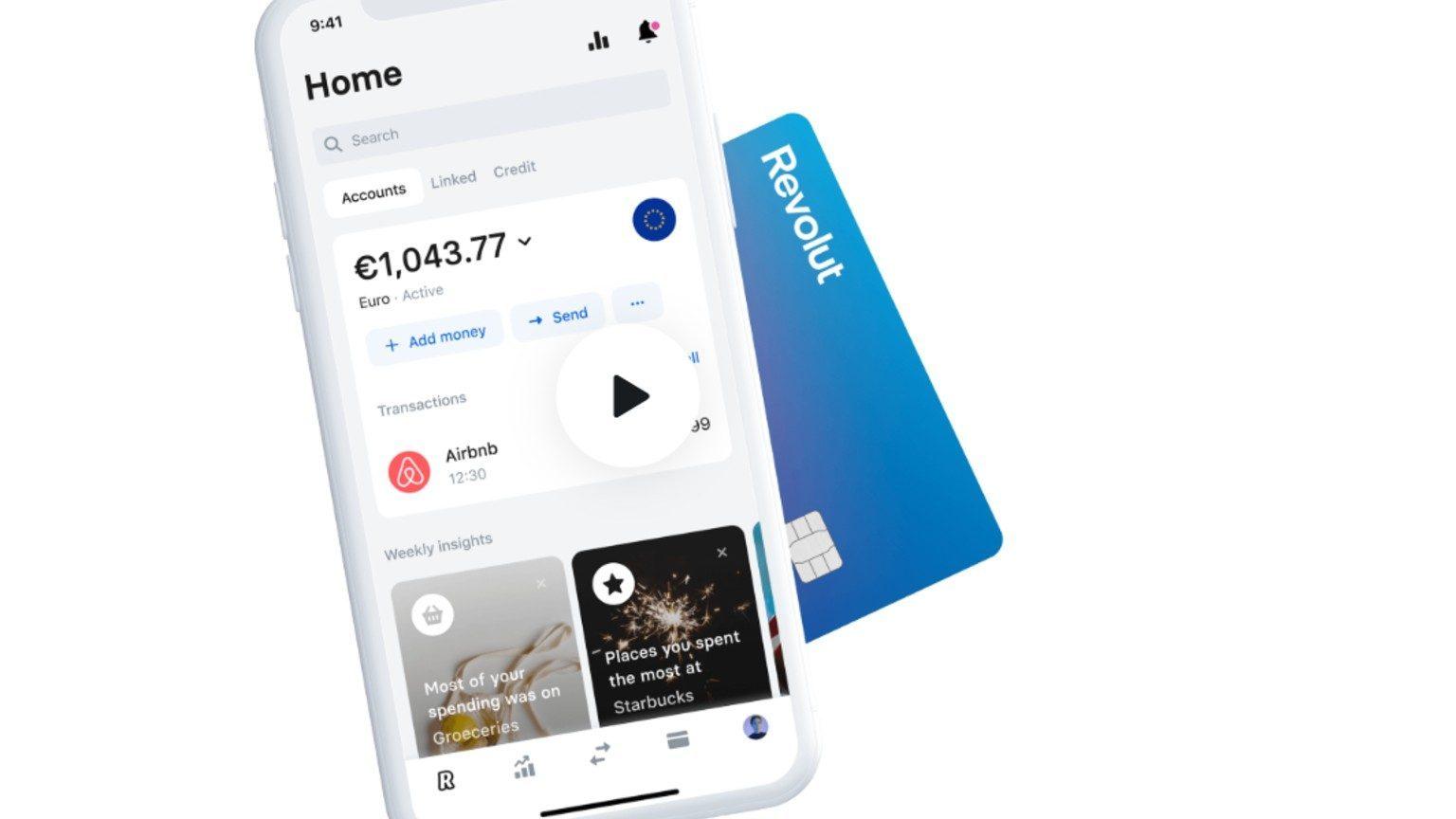 Revolut App Card