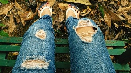 Where to buy ripped jeans online in Hong Kong