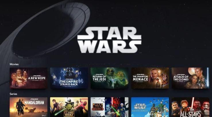 Lista completa del contenido de Star Wars disponible en Disney+ México