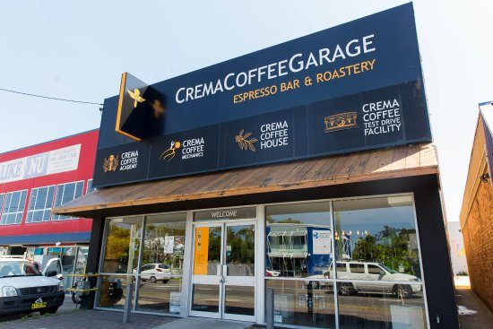 Crema Coffee Garage