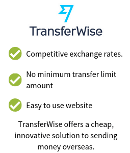 TransferWise International Money Transfer Offer (Sponsored)