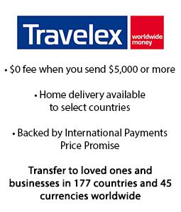 Travelex International Money Transfers