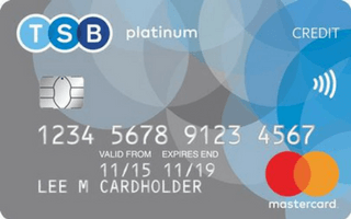 TSB Platinum Balance Transfer Card review August 2020